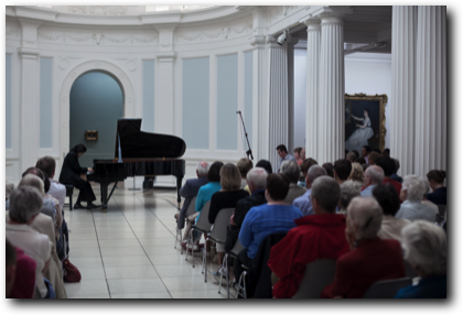 Archie Chen, piano performance at the Hugh Lane Gallery