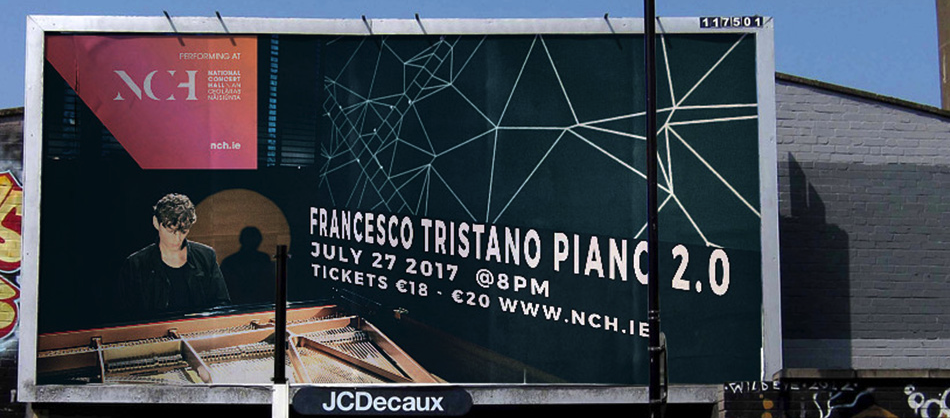 Francesco Tristano plays in Dublin 27th July